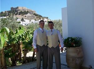 Wedding in Villa Galini Lindos